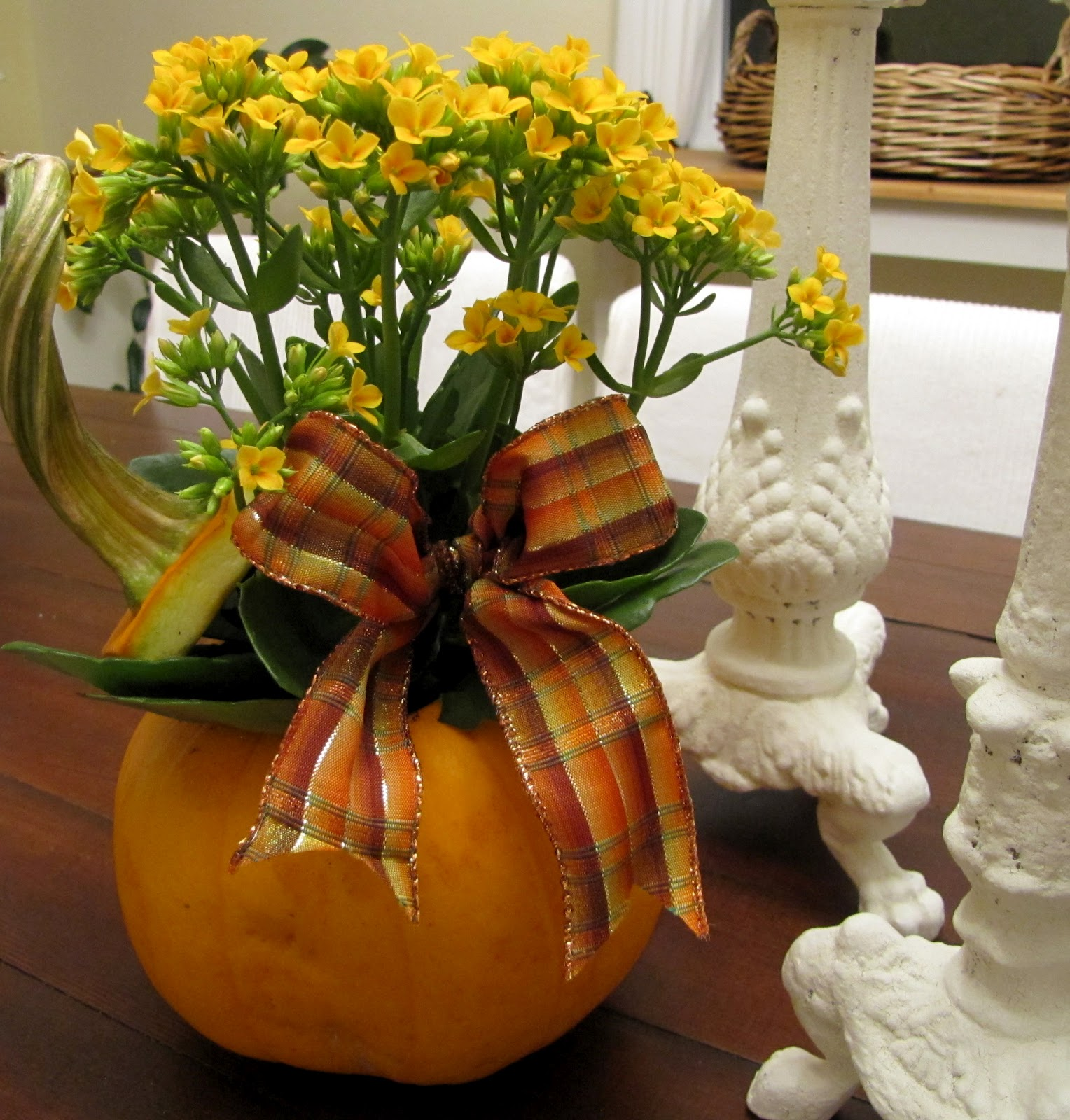 DIY, tutorial, pumpkin, planter, craft