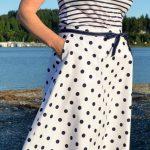 Super Online Sewing Match, Craftsy, Desing & Sew an Aline skirt