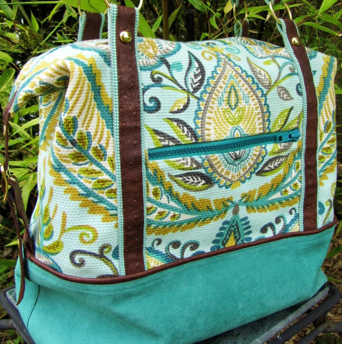 Super Online Sewing Match, It's A Cinch Tote, U-Handbag