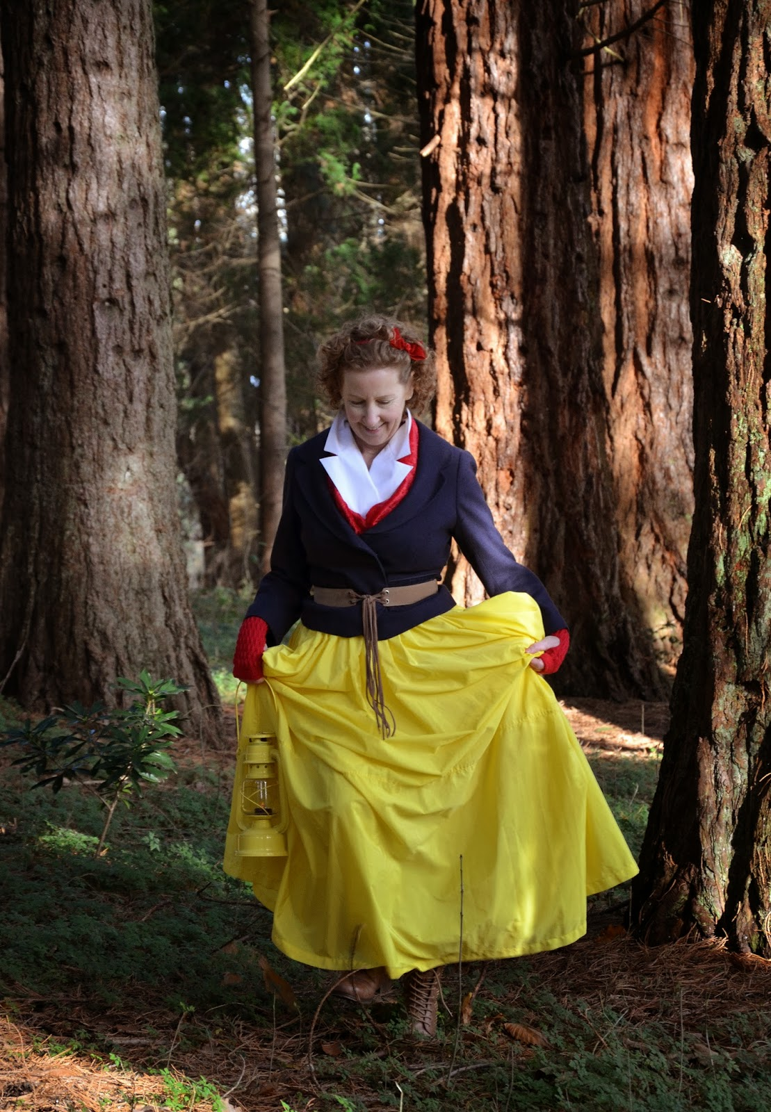 The Travelling Yellow Skirt Freak Show, A Colourful Canvas