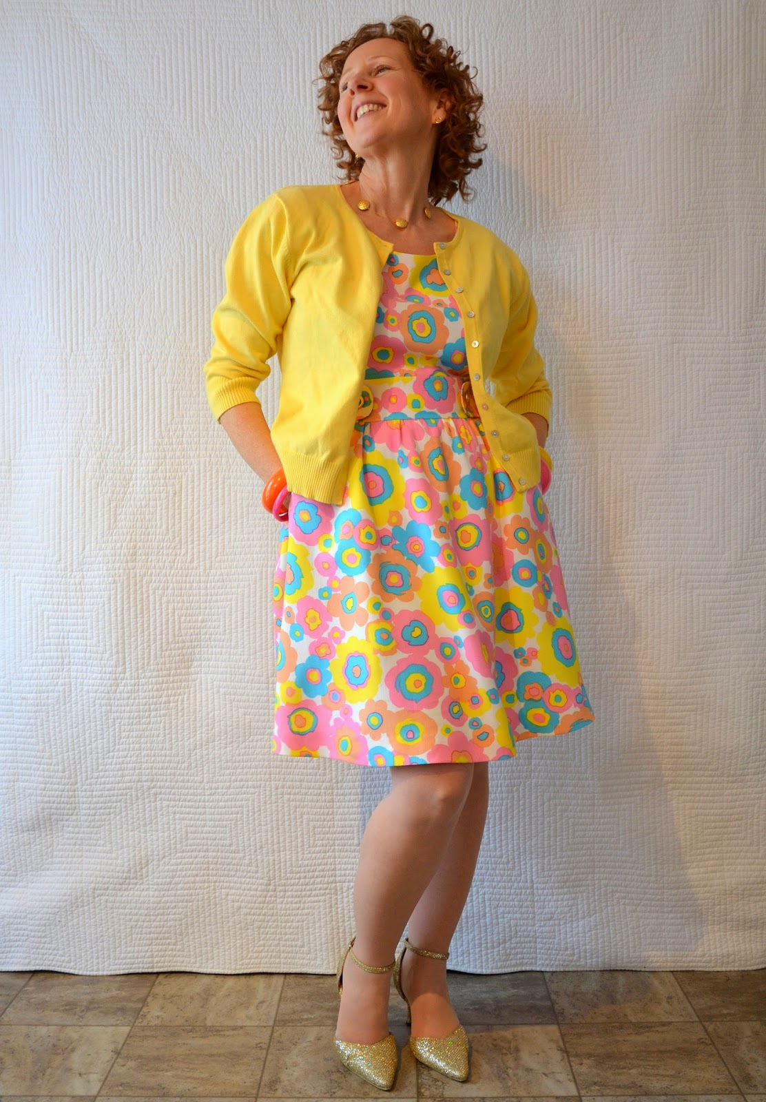 A Colourful Canvas, Cynthia Rowley 1873, New Look 6799, Simplicity 2256