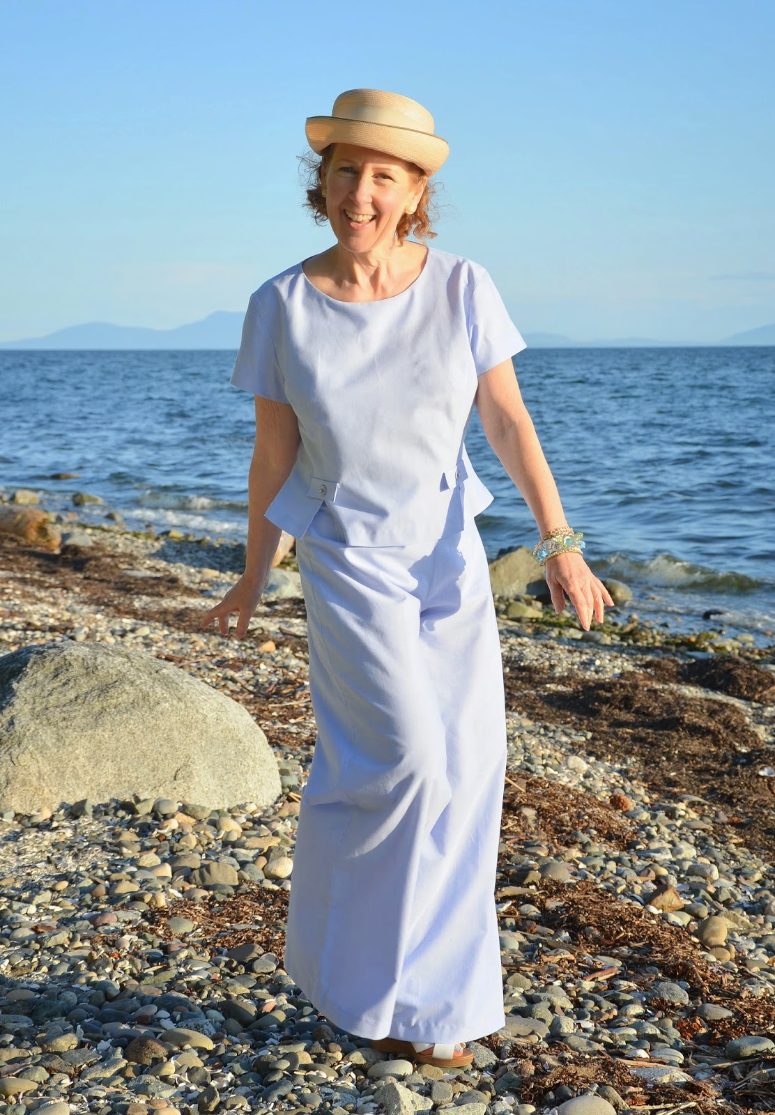 A Colourful Canvas, Vogue Pattern V2958, Simplicity Pattern 8575, Palazzo Pants, Project Sewn,