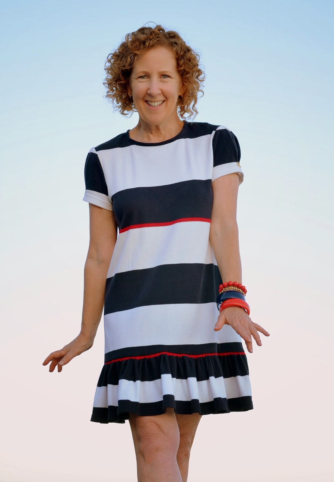 Summer Sundress Sew-a-long, Stripes