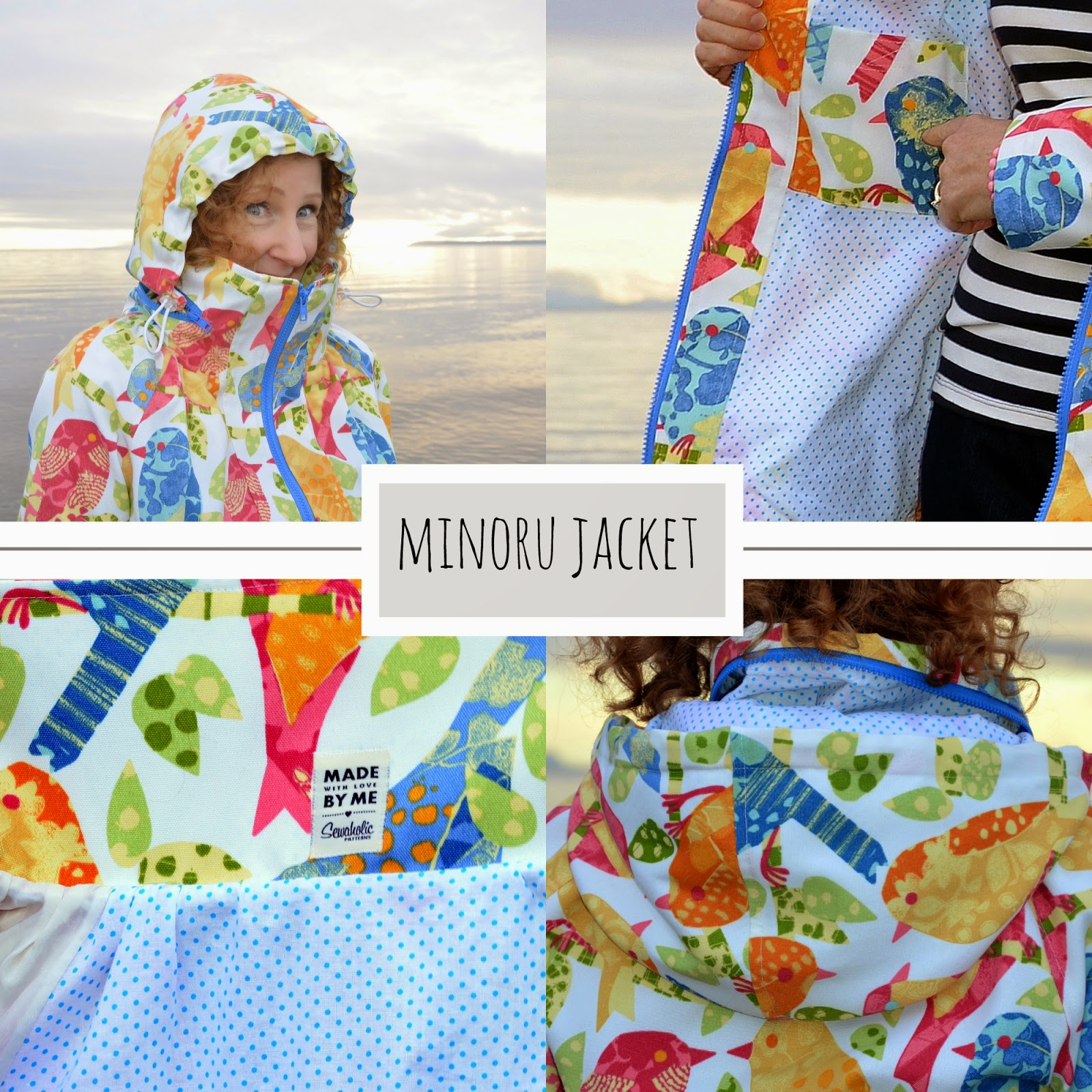 Sewaholic MInoru Jacket, A Colourful Canvas, DYT Type One