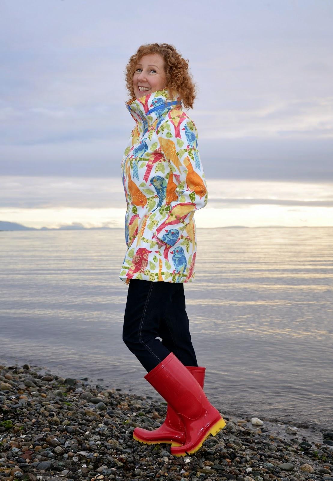 Sewaholic MInoru Jacket, A Colourful Canvas, DYT Type One
