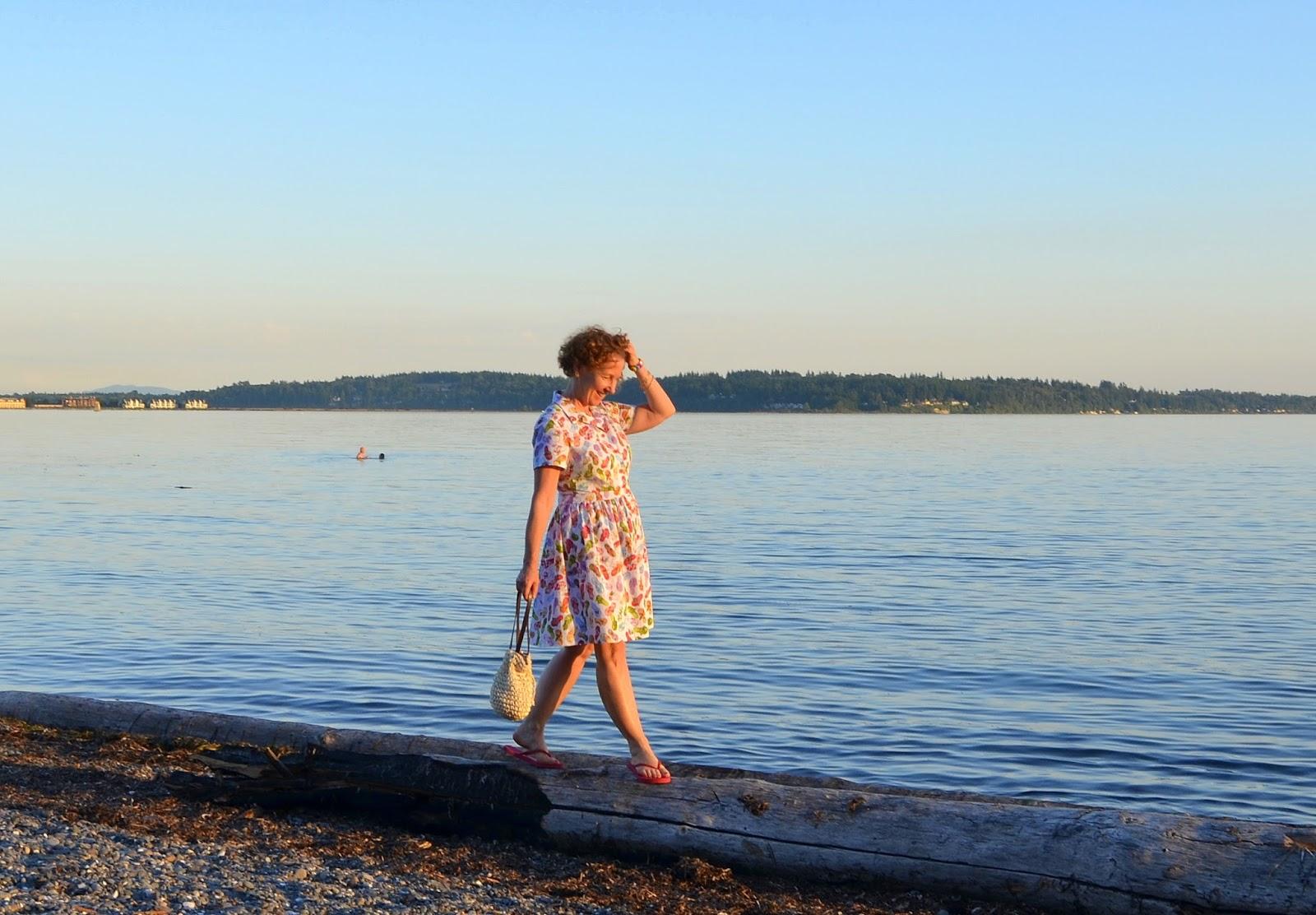 Simplicity 2339 Summer Flip Flops Dress