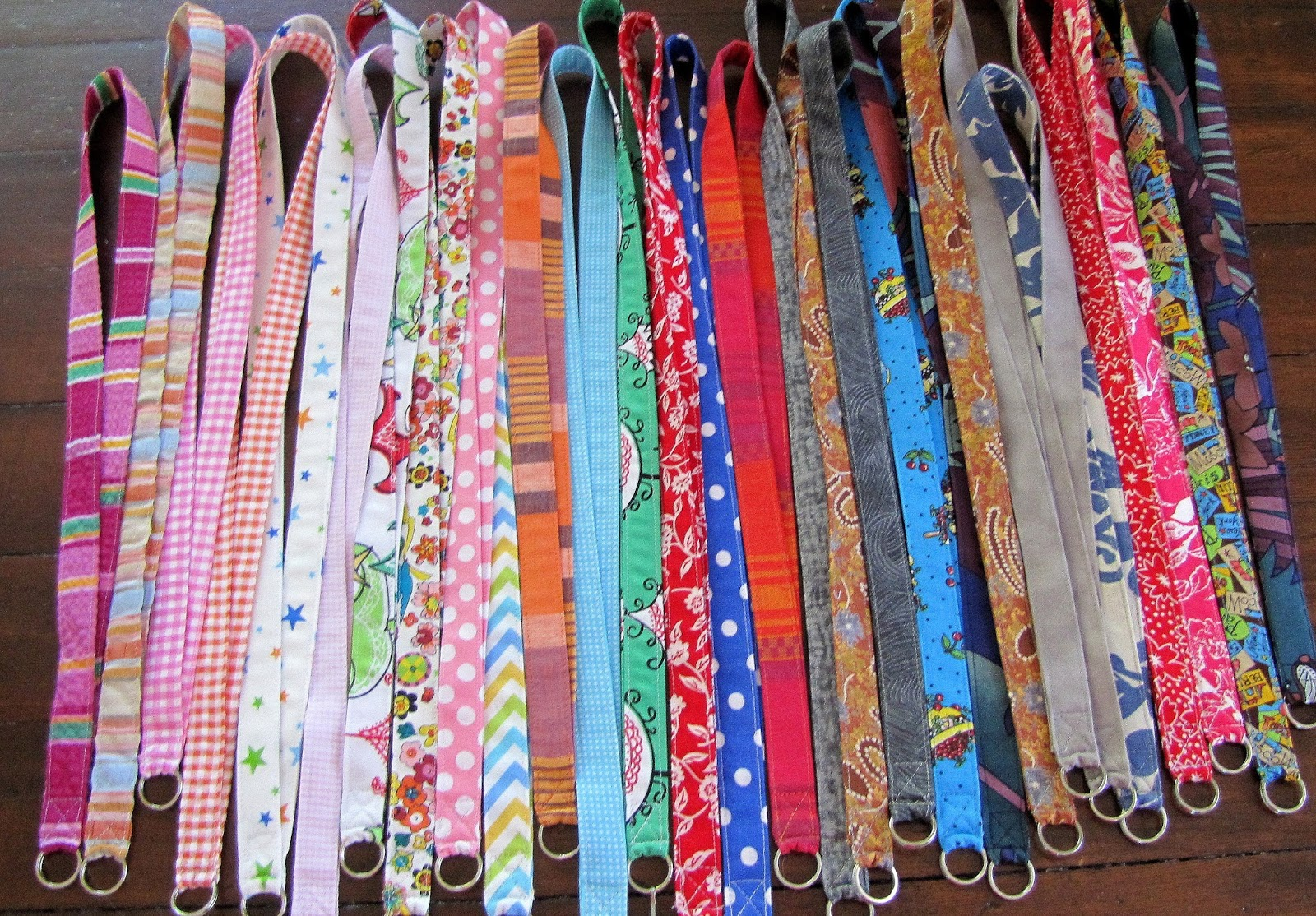DIY : : FABRIC LANYARD TUTORIAL