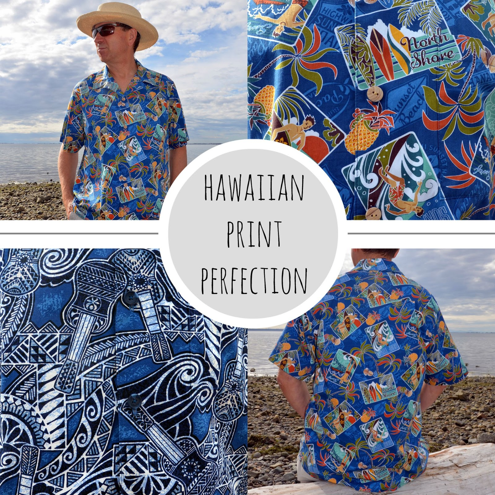 Colette Negroni Aloha Shirt, A Colourful Canvas