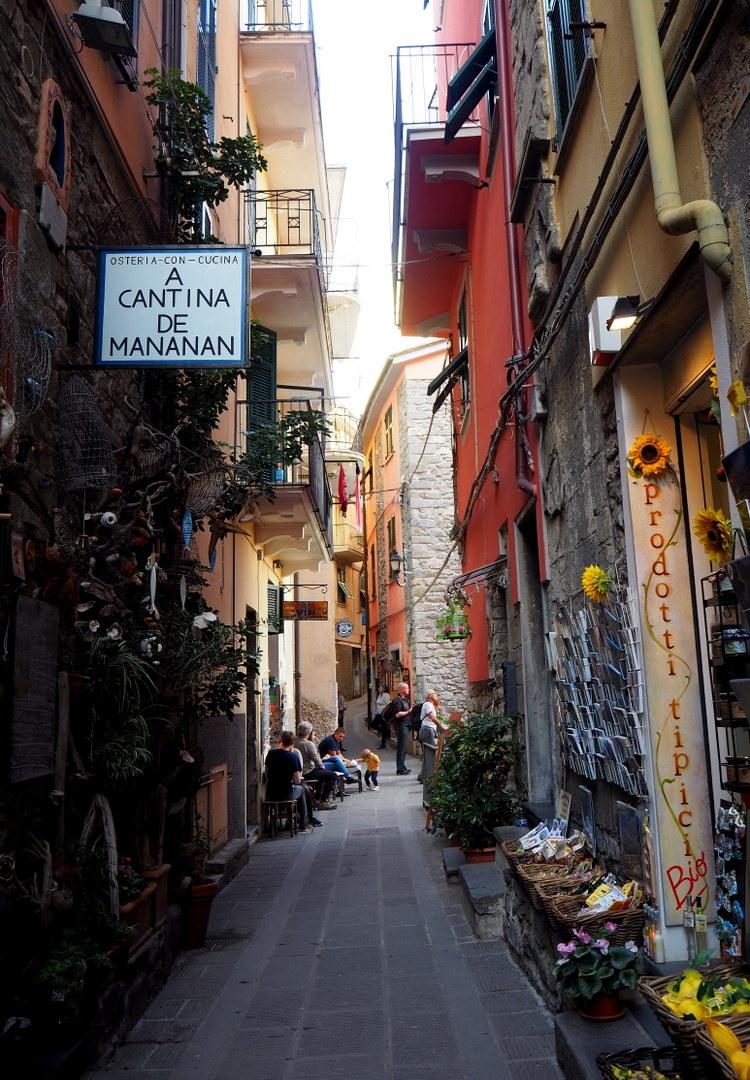 Cornigla, Cinque Terre