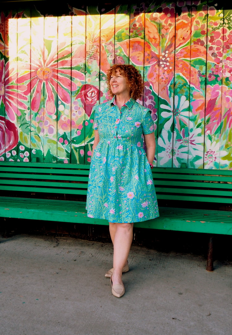 McCall Pattern M7314, McCall's M7314, #sewtogetherforsummer, Vancouver Sewing Blog