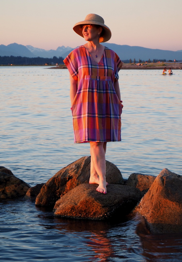 Charlie Caftan, Closet Case Patterns, Vancouver Sewing Blog, Vancouver Sewing blogger