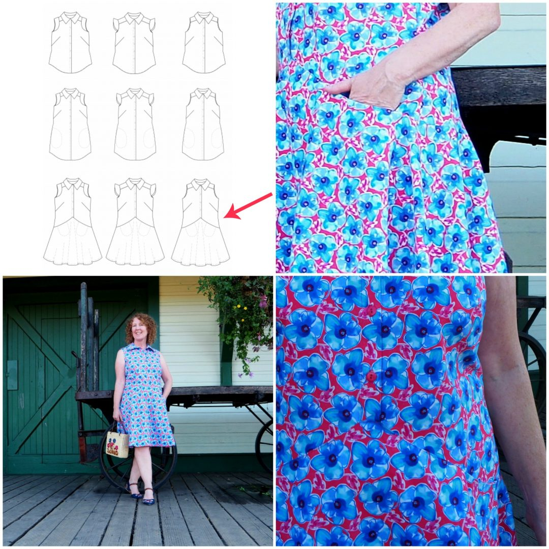 Salt and Pepper Dress, Lara Sanner, Vancouver Sewing Blog, Vancouver Sewing Blogger, A Colourful Canvas