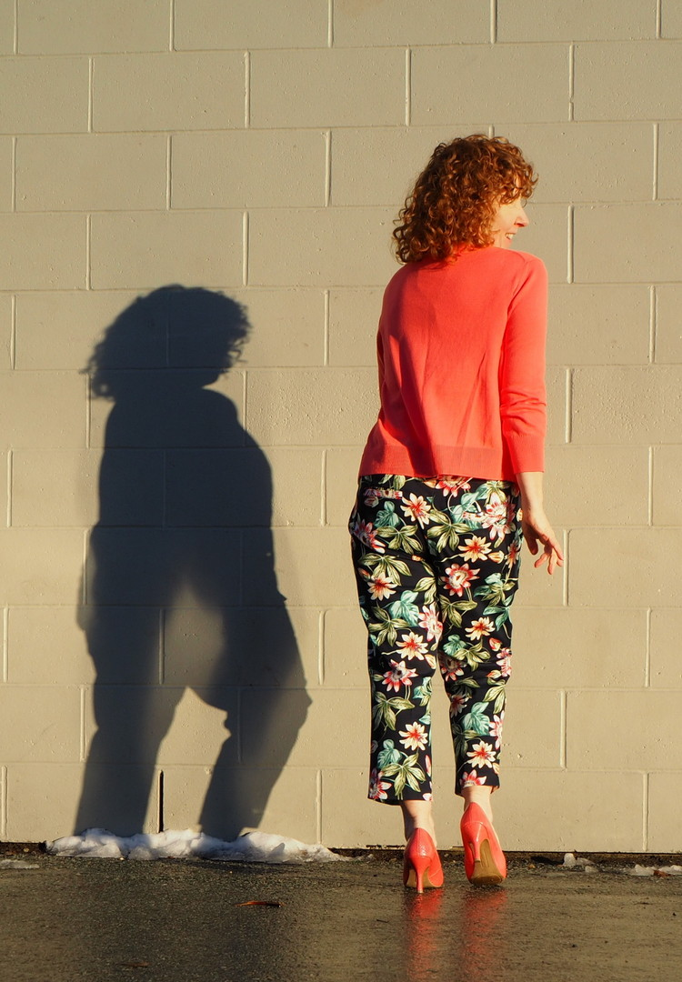 Sasha Trousers, Closet Case Patterns, A Colourful Canvas, Nettie Bodysuit
