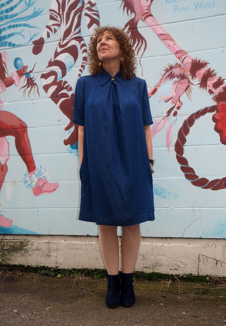 Perth Dress, Carolyn & Cassie Pattern Co, A Colourful Canvas, Vancouver Sewing Blog