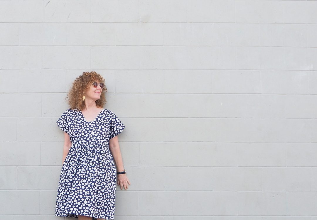 Going Dotty for My Charlie Caftan : : Closet Case Patterns ...