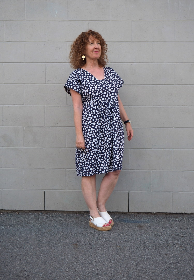 Charlie Caftan, Closet Case Patterns, A Colourful Canvas, Vancouver Blogger, Sewing Blog