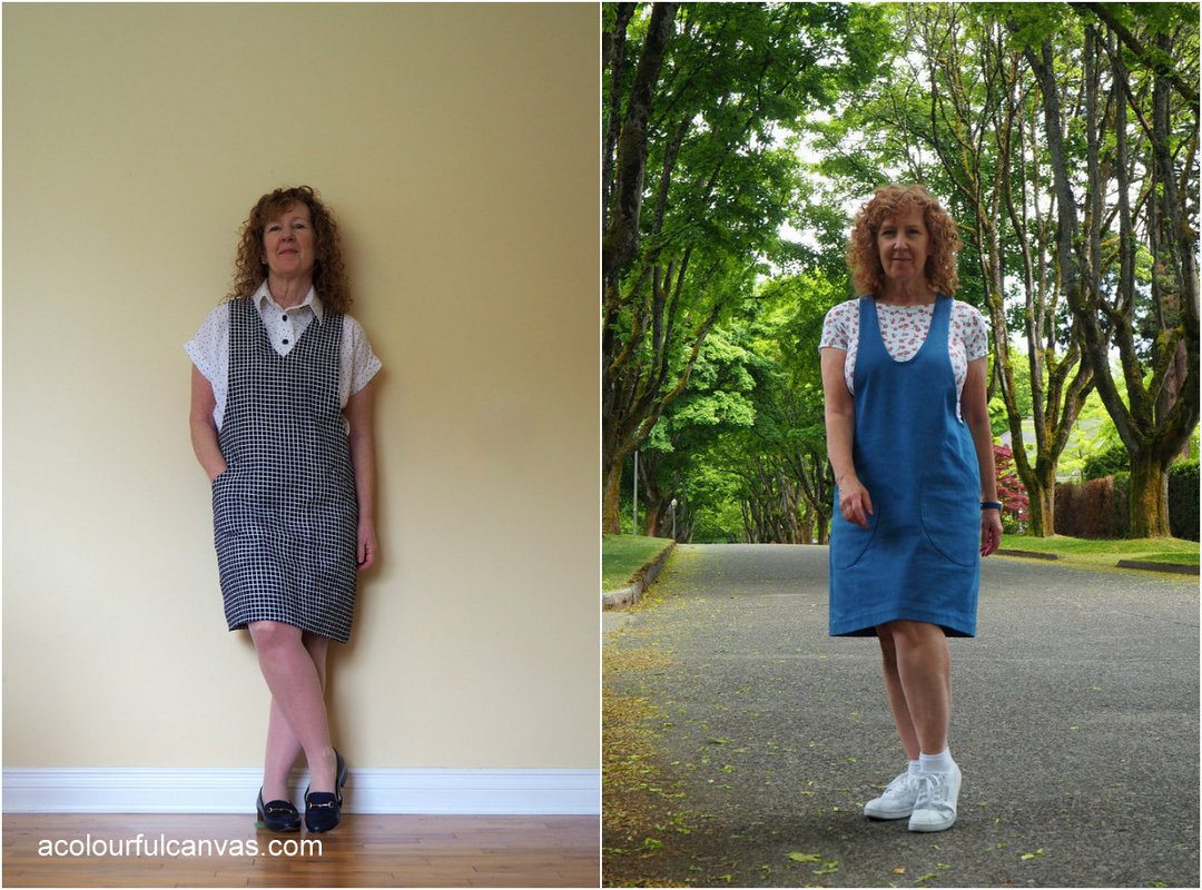 York Pinafore, A Colourful Canvas, Helen's Closet, FBA Adjustment