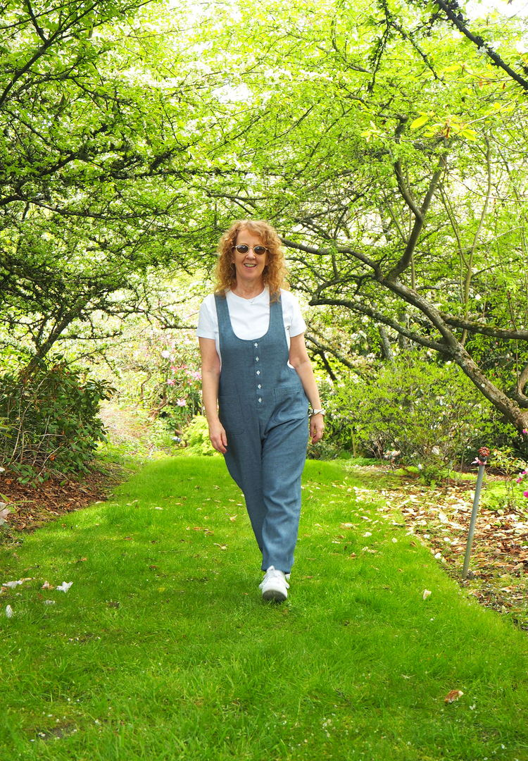 York-Hudson Jumpsuit, York PInafore, Hudson Pants, A Colourful Canvas, Vancouver Blogger, Vancouver Sewing Blogger