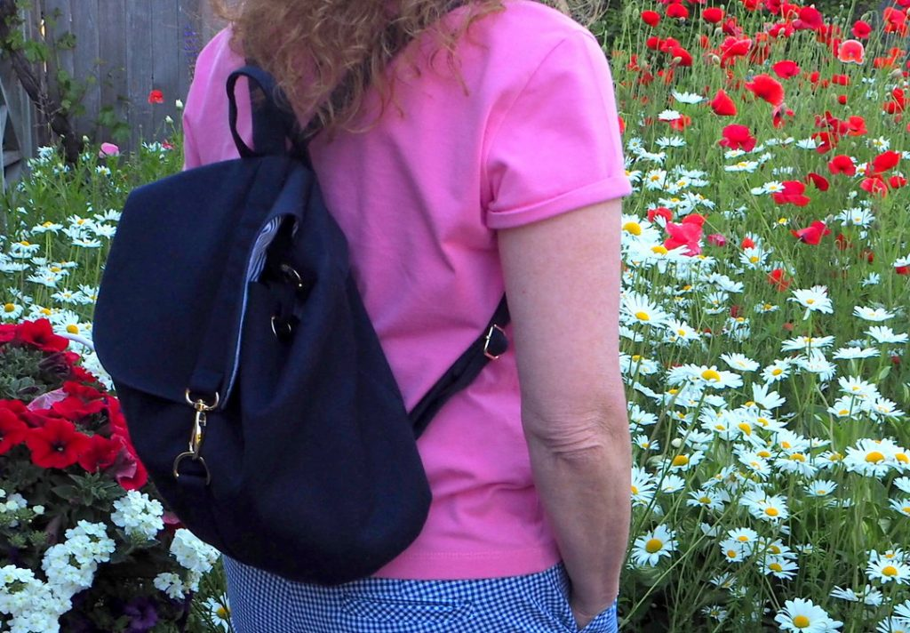 London Backpack, LBG Studio, A Colourful Canvas, Vancouver Sewing Blogger