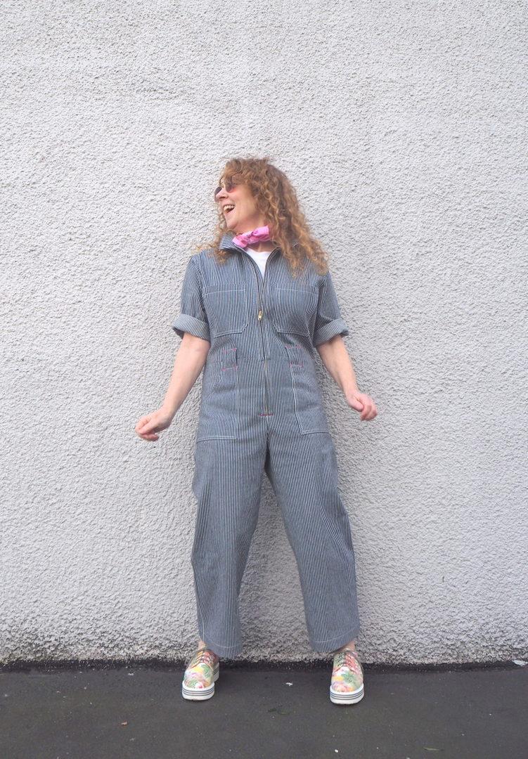A Colourful Canvas, Blanca Flight Suits, Closet Case Patterns, Vancouver Blogger