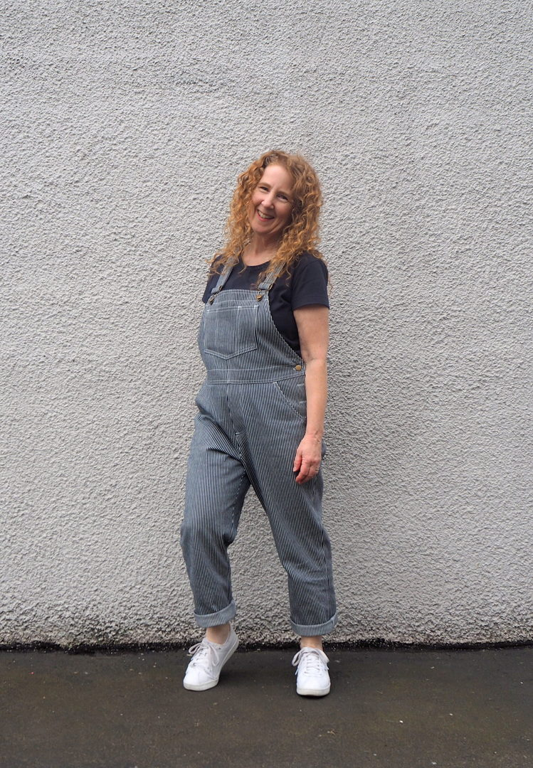 A Colourful Canvas, Jenny Overalls, Closet Case Patterns, Jenny Overalls Hack, Vancouver Blogger
