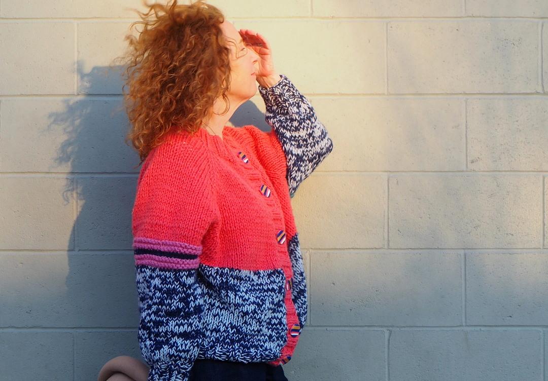 Pop Jacket, HipKnitShop, A Colourful Canvas, Vancouver Blogger