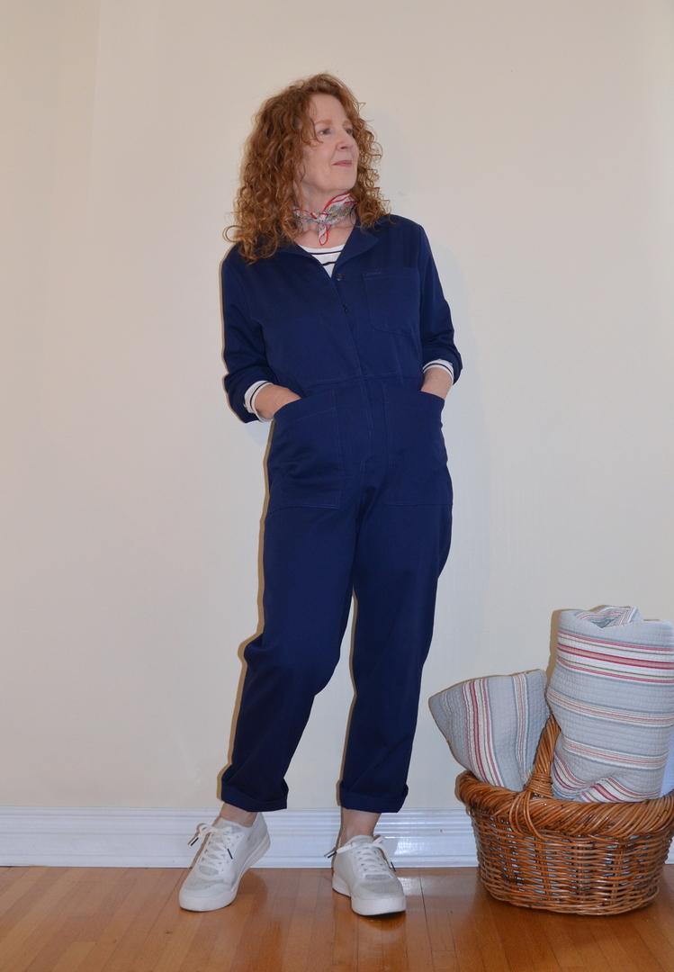 Closet Core Patterns, Blanca Flight Suit, A Colourful Canvas, Vancouver Blogger